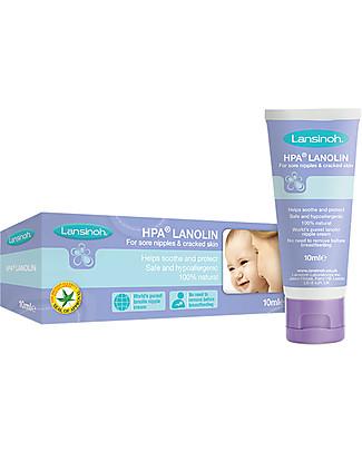 Lansinoh Crema alla Lanolina per Capezzoli Irritati - 10ml Prodotti Per La Cura Del Seno