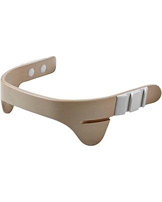 Leander Protezione Addominale, Sbiancato - Accessorio adatto a Seggiolone Leander Seggioloni
