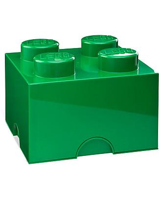 Lego LEGO 4-Stud Green Storage Brick! Toy Storage Boxes