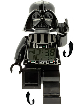 Lego Sveglia con Minifigure Darth Vader LEGO Star Wars Sveglie
