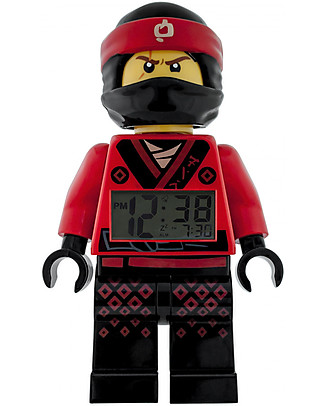 Lego Sveglia con Minifigure Omino di Kai LEGO Ninjago Movie Sveglie