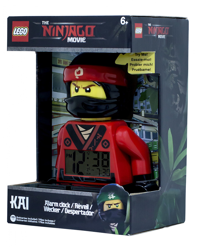 Lego Sveglia Con Minifigure Omino Di Kai Lego Ninjago Movie Unisex