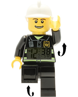Lego Sveglia con Minifigure Pompiere LEGO City Sveglie