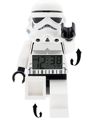 Lego Sveglia con Minifigure Storm Trooper LEGO Star Wars Sveglie