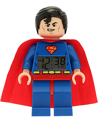 Lego Sveglia con Minifigure Superman LEGO DC Super Heroes Sveglie