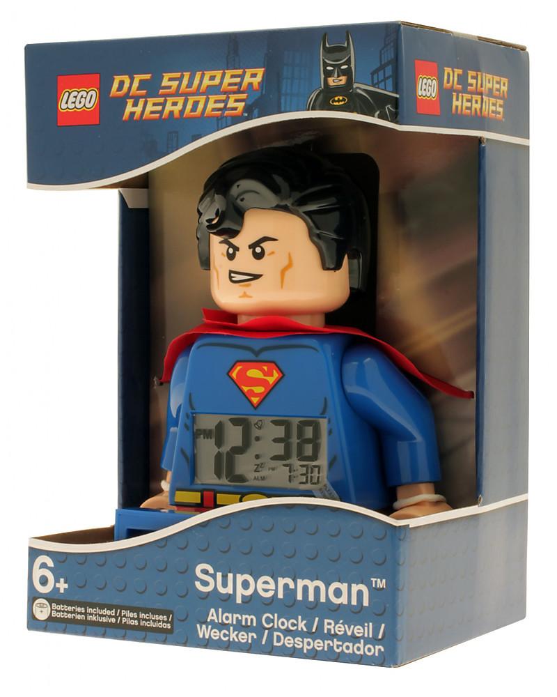 Lego Sveglia Con Minifigure Superman Lego Dc Super Heroes Unisex