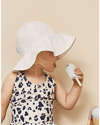 Liewood Cappellino Estivo Amelia, 100% cotone bio - Bianco a Pois Cappelli Estivi
