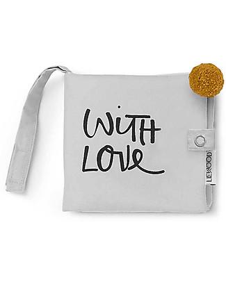 Liewood Libro in Tessuto Lenny, With Love - 100% Cotone Biologico Libri