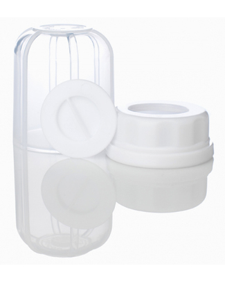 Lifefactory Set Cappuccio, Ghiera e Tappo Ermetico - per biberon Lifefactory Biberon In Vetro