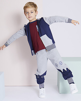 Lilly+Sid Joggers, Monster - 100% organic Cotton Trousers