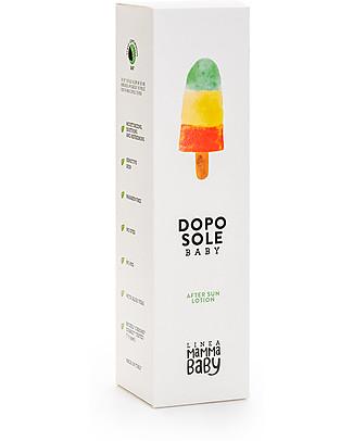 Linea Mamma Baby Giovannino, Dopo Sole Baby, 150 ml – Lenitivo, rinfrescante, ecologico! Solari