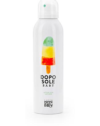 Linea Mamma Baby Giovannino, Dopo Sole Baby Spray, 150 ml - Lenitivo, rinfrescante, ecologico! Solari