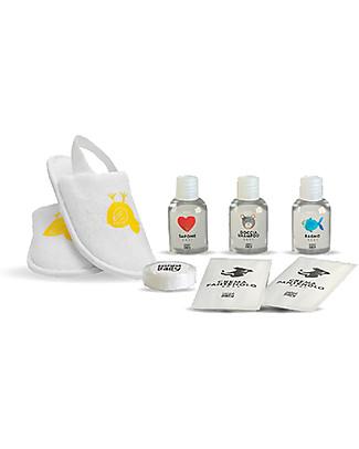 Linea Mamma Baby Linea Cortesia, Pochette Trasparente con una Selezione di Prodotti - Provali tutti! Crema Per Il Cambio