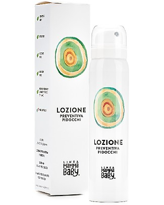 """Linea Mamma Baby Lozione Preventiva Pidocchi """"Poldino"""" - 75 ml Bagno Doccia Shampoo"""
