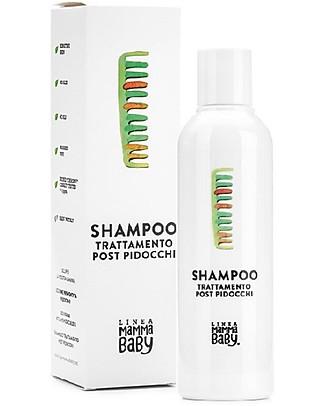 """Linea Mamma Baby Shampoo Antipediculosi, Trattamento Post Pidocchi """"Paolino"""" - 200 ml Bagno Doccia Shampoo"""