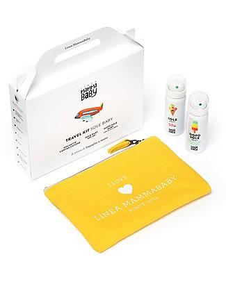 Linea Mamma Baby Travel Kit Sole Baby: Solare, Doposole e Pochette da Viaggio! Solari
