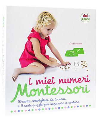 L'ippocampo Ragazzi I miei numeri Montessori, Cofanetto  - Carte + libretto attività Giochi Montessoriani