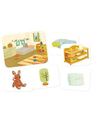 L'ippocampo Ragazzi I piccoli Montessori, Gli oggetti della casa - 35 cars + libretto Libri