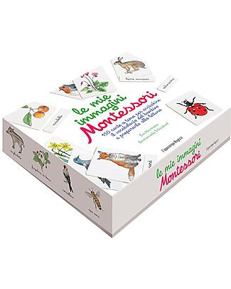 L'ippocampo Ragazzi Le Mie Immagini Montessori, Cofanetto  - 150 carte + libretto attività Giochi Montessoriani