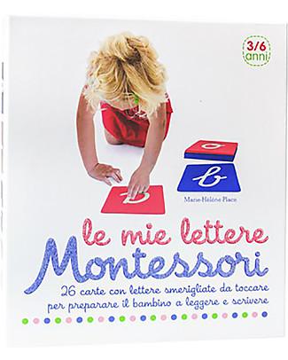 L'ippocampo Ragazzi Le Mie Lettere Montessori, Cofanetto  - 26 carte + libretto attività Giochi Montessoriani