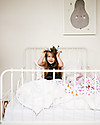 Little Unicorn Trapunta Baby 120 x 120 cm, Berry & Bloom  -  4 strati di mussola di cotone 100% Coperte
