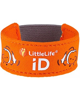 LittleLife Braccialetto Bimbo Safety ID, Nemo Bracciali