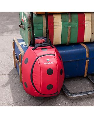 LittleLife Trolley Bimba, Coccinella - Per Piccoli Viaggiatori! Valigette