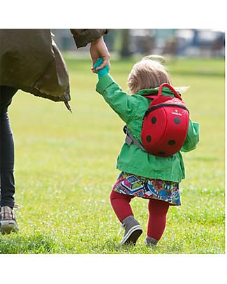 LittleLife Zainetto Bimba 1-3 anni, Coccinella - Redinella di Sicurezza Inclusa Zainetti