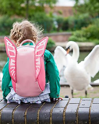 LittleLife Zainetto Bimba 3+ anni, Farfalla - Perfetto per la scuola! Zainetti
