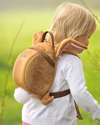 LittleLife Zainetto Bimbo 1-3 anni, Bunny il coniglietto - Redinella di Sicurezza Inclusa Zainetti