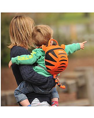 LittleLife Zainetto Bimbo 1-3 anni, Tigro la Tigre - Redinella di Sicurezza Inclusa Zainetti