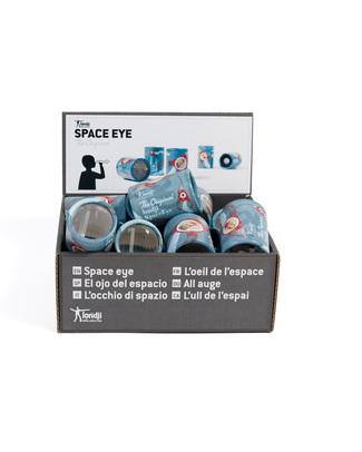 Londji Caleidoscopio Da tasca Space Eye - Riciclabile -  Giochi Di Una Volta