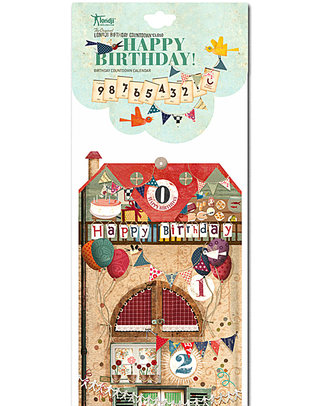 Londji Calendario - Conto alla Rovescia per il Compleanno! Regalini