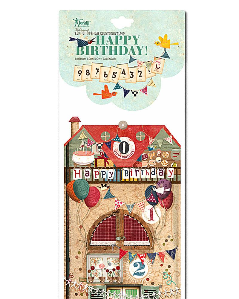 Calendario Conto Alla Rovescia.Londji Calendario Conto Alla Rovescia Per Il Compleanno