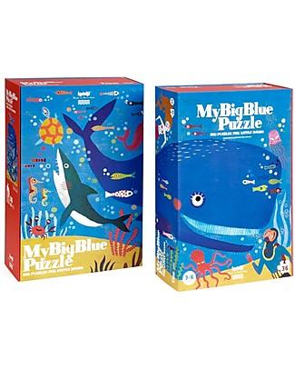 Londji Il MIo Grande Puzzle Blu - 36 grandi pezzi! Puzzle