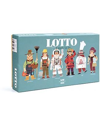 Londji Lotto, Io voglio essere.. - Include 6 carte di mestieri + 36 tessere rotonde! Giochi Di Una Volta