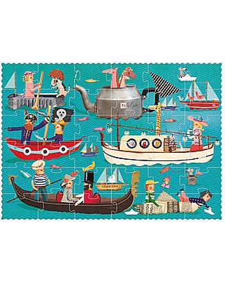 Londji Mare Mio Puzzle - 50 grandi pezzi - Cartone Riciclato! Puzzle