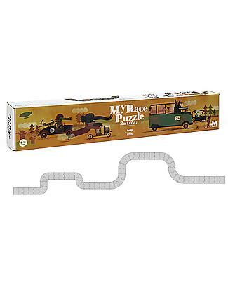 Londji OUTLET - Puzzle My Race - Una pazza corsa lunga 3 metri! Puzzle