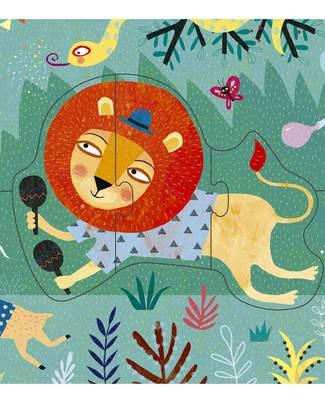 Londji Puzzle - My Jungle - 22 Pezzi (cartone riciclato!) Puzzle