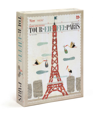 Londji Puzzle Paris Tour Eiffel - 54 Pezzi Puzzle