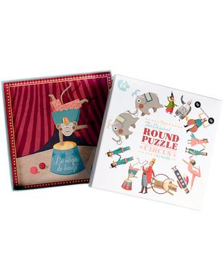 Londji Puzzle Rotondo il Circo (cartone riciclato) Puzzle
