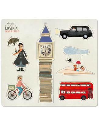 Londji Set Calamite Londra - 6 Calamite Giochi Di Una Volta