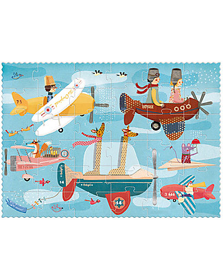 Londji Volare Puzzle - 36 grandi pezzi - Cartone Riciclato! Puzzle