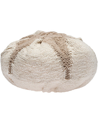 Lorena Canals Cuscino Lavabile Lavorato a Maglia Fiocco di Cotone - 25x10 cm  Cuscini