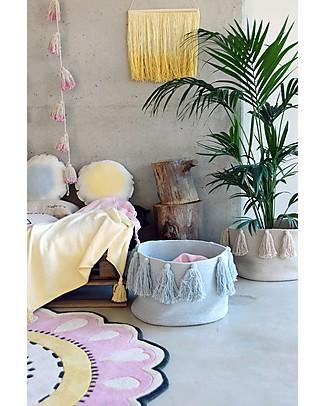 Lorena Canals Ghirlanda da Parete con PonPon Tie-Dye, Pink - 100% cotone  Decorazioni