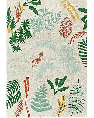 Lorena Canals Grande Tappeto Lavabile Botanic Plants - 140 x 200 cm null