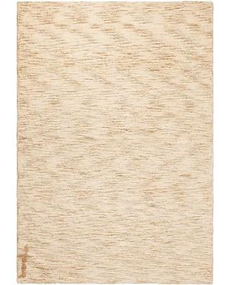 Lorena Canals Grande Tappeto Lavabile Mix Beige Sabbia - 100% Cotone (140 x 200 cm) Tappeti