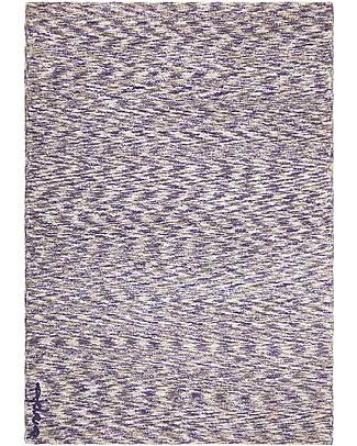 Lorena Canals Grande Tappeto Lavabile Mix - Sfumature di Blu e Grigio - 100% Cotone (140 x 200 cm) Tappeti