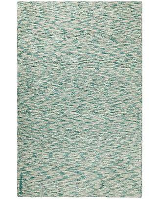 Lorena Canals Grande Tappeto Lavabile Mix Verde Smeraldo - 100% Cotone (140 x 200 cm) Tappeti