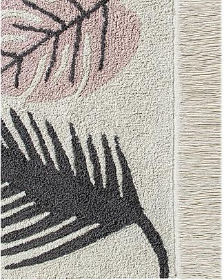 Lorena Canals Grande Tappeto Lavabile Tropical, Rosa - 140 x 200 cm Tappeti